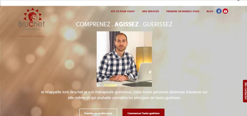Image site Internet médecine douce développé par cyberformation.fr